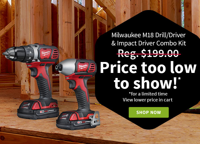 Milwaukee 2-Tool M18 Combo Kit