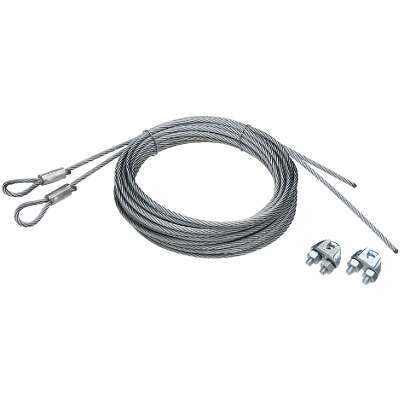 Prime-Line 5/32 In. Galvanized Carbon Steel Extension Cable