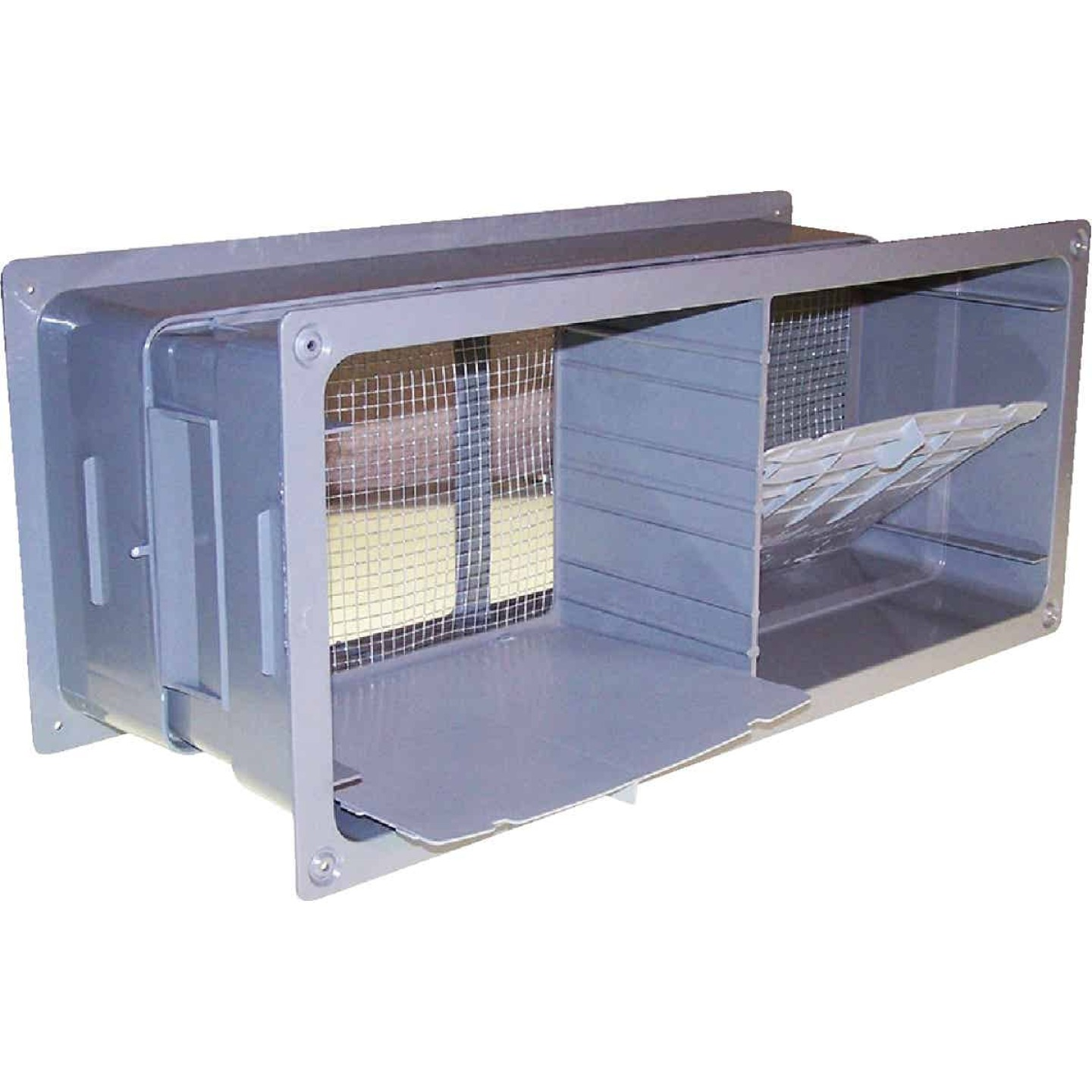 NorWesco 7-1/4 In. x 18-1/2 In. Adjustable Foundation Vent with Damper Image 1