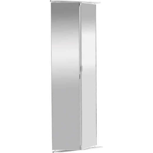 Colonial Elegance 30 In. W x 80-1/2 In. Frameless Mirrored Bifold Door