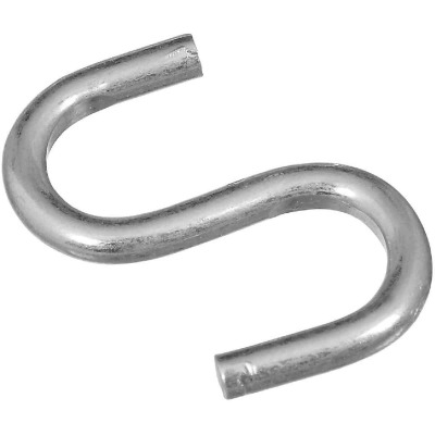 National 1 In. Zinc Heavy Open S Hook