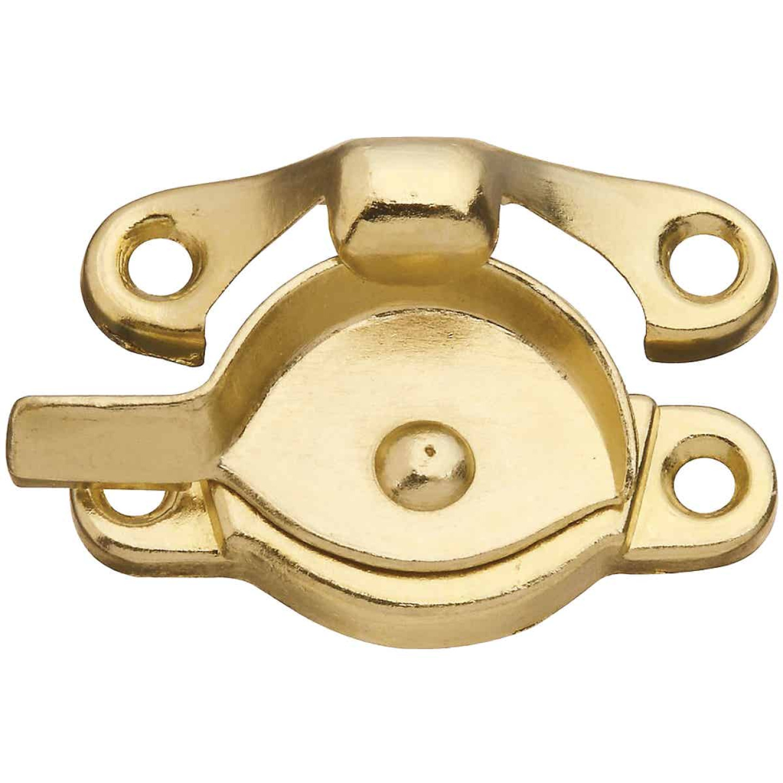 National Brass 7/8 In. Crescent Sash Lock Image 1