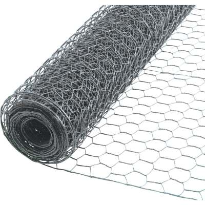 Do it 1 In. x 24 In. H. x 25 Ft. L. Hexagonal Wire Poultry Netting